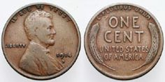 Is Your Wheat Penny a Key Date? : This 1914-D Wheat Ears Penny is a key date cent in average circulated condition.