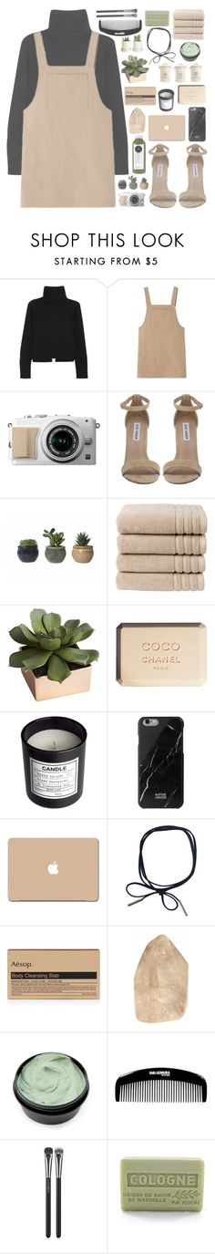 """""""THE WORLD AINT REALLY READY FOR YOU"""" by p-eyton ❤ liked on Polyvore featuring Alexander McQueen, Steve Madden, Christy, CB2, Chanel, H&M, Design 55, Native Union, 3M and Aesop"""