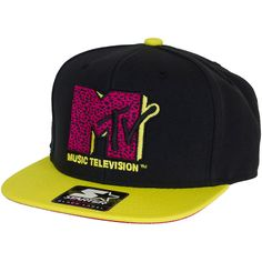 Starter Cap MTV Infilicon black/yellow ★★★★★