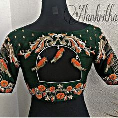 Pattu Saree Blouse Designs, Blouse Designs Silk, Designer Blouse Patterns, Bridal Blouse Designs, Kids Blouse Designs, Simple Blouse Designs, Stylish Blouse Design, Dress Designs, Lehenga