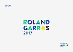 Création de l'affiche de Roland Garros pour l'édition 2017. Suivie de ses déclinaisons sur les supports merchandising. (Mug, Tee-shirt..) Creation of the Roland Garros's poster2017 … Logos, Event Posters, Logo