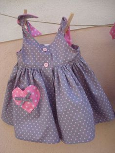 Little Girl Dresses, Girls Dresses, Summer Dresses, 1 An, Dress Sewing Patterns, Couture, Sewing For Kids, Kids Wear, Kids And Parenting