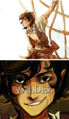 Leo Valdez... I may have just died