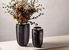 Shop our range of small, medium & large vase designs from leading home accessory brands. Centre Pieces, Green Plants, Vases Decor, Interior Accessories, Luxury Interior, Flower Arrangements, Floral Design, House Styles, Flowers