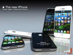 Concept image of iPhone5