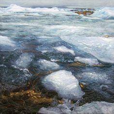 Sandra Meech - felting / quilting textile - Meltodown3