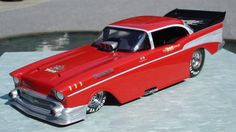 "Tom ""The Mongoose"" McEwen's 1957 Chevy Funny Car"