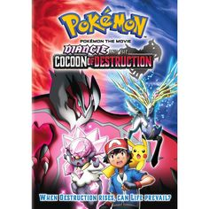 Pokémon the Movie: Diancie and the Cocoon of Destruction Le film Pokémon the Movie: Diancie and the Cocoon of Destruction est disponible en français sur Netflix Canada Netflix France [fanarttv Pokemon Film, Pokemon Movies, Pokemon Go, Pikachu, Pokemon Kalos, Pokemon Sketch, Pokemon Poster, Movies 2014, Hd Movies