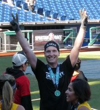 I just finished a Spartan Stadium Race.  It was awesome.  Check out my pictures and review.
