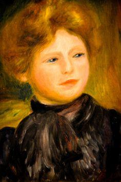 Pierre August Renoir - Portrait de femme at Louvre Museum Paris France   Flickr - Photo Sharing!