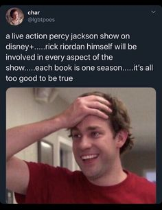 Oh my freaking blue pancakes Percy Jackson Memes, Percy Jackson Books, Percy Jackson Fandom, Magnus Chase, Solangelo, Percabeth, Oncle Rick, Harry Potter, Trials Of Apollo