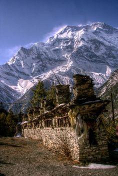 Prayer Wheels of Annapurna / Nepal
