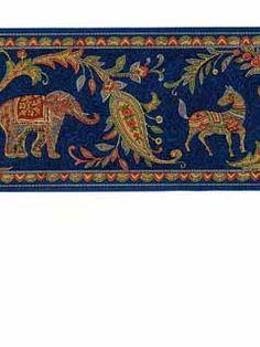 East Bay Wallpaper l American Blinds.com l Moroccan India Border