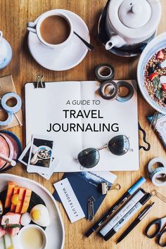 A Pair & A Spare | An Easy Guide To Travel Journaling (I tried it and I love it!)