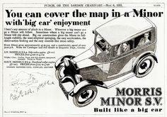 1931 Morris Minor S.V. Saloon