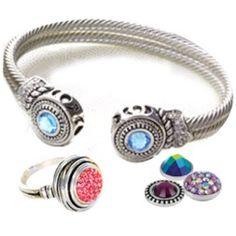 I really want this Lotti Dottie bangle! So versatile Diy Jewelry, Jewelry Gifts, Jewelry Accessories, Fashion Accessories, Lottie Dottie, Ginger Snaps Jewelry, Bangles, Bracelets, Necklaces