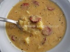 This is a category archive for Polévky Top Recipes, Cooking Recipes, Modern Food, Czech Recipes, Good Food, Yummy Food, Soups And Stews, Bon Appetit, Cheeseburger Chowder