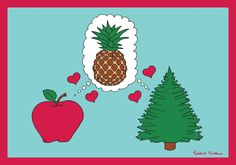 Pineapple Love by Federico Monzani
