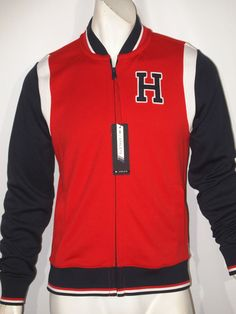 Tommy Hilfiger athletic baseball track jacket size xxl NEW on SALE  #TommyHilfiger #trackjakcet