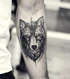 40 Masculine Wolf Tattoo Designs For Men