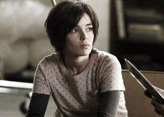 Elodie Bouchez Alias, shaggy short hair