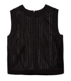 Alexander Wang Logo Tank - Shop more black hues perfect for summer: http://www.harpersbazaar.com/fashion/fashion-articles/style-qa-summer-black