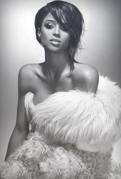Old Hollywood Look~ Ciara