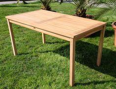 Unique TEAK XL Holztisch Gartentisch Garten Tisch xcm Gartenm bel Holz ge lt sehr robust Modell ALPEN Alles