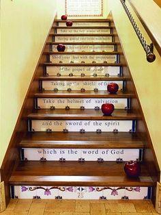Как украсить ступеньки лестницы в доме и на даче (33 фото) | Дачный дом | DecorWind.ru