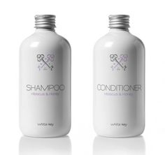 white key shampoo and aconditioner