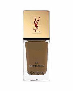 Yves Saint Laurent La Laque Couture in No 31 Khaki Arty | Bloomingdale's