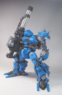 "MS18-SE Kampfer Ora Zaku Special by ""itto"".    #Gundam #Zeon #GunPla"