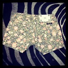 Miss Me Leopard Jean Shorts, $89.00  30% OFF during June! :)  www.DustyDiamondsBoutique.com