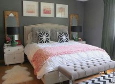 Womens Bedroom Decor Awesome Bedroom Design Ideas for Women S Bedroom Design Small Bedroom Design Ideas for Couple Bedroom, Small Room Bedroom, Trendy Bedroom, Girls Bedroom, Bedroom Decor, Bedroom Simple, Small Bedrooms, Feminine Bedroom, Master Bedroom