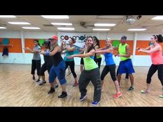 """Salsa """"Acuyuye"""" by DLG - Choreo by KELSI for Dance Fitness - YouTube"""