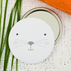 Fox pocket mirror fox magnet woodland fox fridge magnet rabbit face pocket mirror rabbit magnet bunny mirror easter gift easter bunny rabbit pocket mirror negle Images