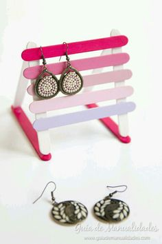 Earring holder to make for my big sister.