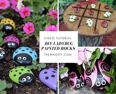 Ladybug Painted Rocks A Super Cute DIY