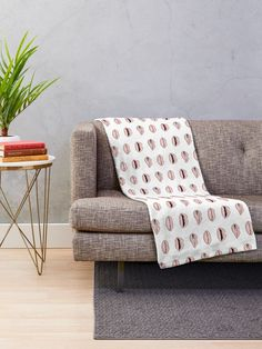 'Colored Orientale Traditional Moroccan Pattern Artwork' Throw Blanket by Arteresting Grey Throw Blanket, Minky Blanket, Throw Pillows, Throw Blankets, Red Throw, White Throws, Blue Throws, Flower Motif, Oriental