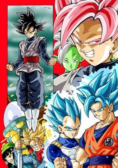 Dragonball Super Future Trunks/Goku Black saga