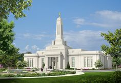 Ground was just broken mid-2012 for the Indianapolis LDS Temple. This is the artist's rendering. I was baptized and served my mission leaving and returning from Indy so I feel I had a small part in it. The tower is very similar to the war memorial downtown, so it is very nostalgic.