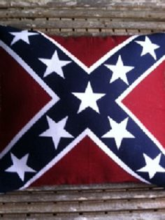 Hey, I found this really awesome Etsy listing at https://www.etsy.com/listing/190690621/rebel-flag-pillow