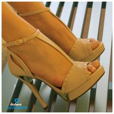 salto alto - nude - party shoes - fashion - heels - Ref. 14-19003 - Alto Verão 2015