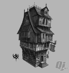 Building Concept art - Google Search