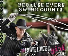 Because every swing counts. #ropelikeagirl