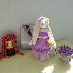 Свадебная вислоухая зая в стиле тильда #tilda #rabbit #bunny #wedding #weddingbunny #свадьба #тильда #зайка #текстильныеигрушки #игрушкивладыоладько #сереневый