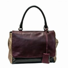 Gianni Chiarini Leather Bag  BS3080   Reference: BS 3080-222 SFR MULTY--SENAPE