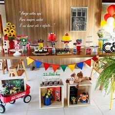 Festa Toy Story que fizemos para os lindos irmãos Caio e Isabela. Agradecemos a…