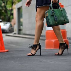 Stop traffic in the LOVEFRINGE. @high_onfashion Pinned from @StuartWeitzman