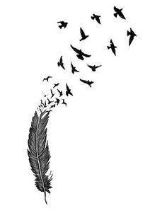 ASOS Fashion Finder   INKWEAR Feather Bird Tattoos